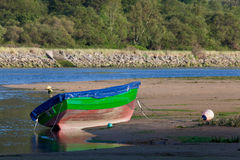 Boat in Oriñon Royalty Free Stock Image