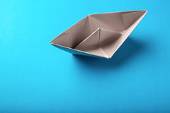 Boat paper origami Stock Photography