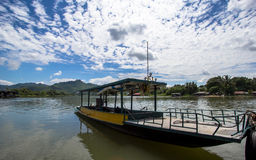 A boat park at noon Stock Photos