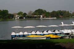 Boat in the park Stock Image