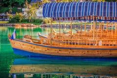 Boat park royalty free stock image