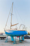 Boat parking Stock Photography