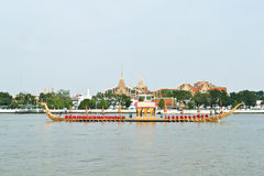 Boat participating. In the thailand Royalty Free Stock Photo