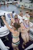 Boat party Stock Photography