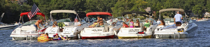 Boat Party Get Together Stock Photography