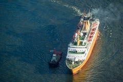 Boat passenger cruise Royalty Free Stock Images