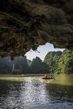 Ha Long Bay, a UNESCO World Heritage Site in Quang Ninh Province, Vietnam stock images