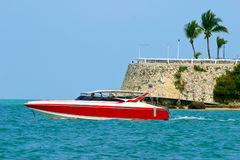 Boat in Pattaya, Thailand Royalty Free Stock Images
