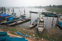 Boat pattern at chilika lake rambha odisha