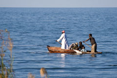 Boat with people stock images
