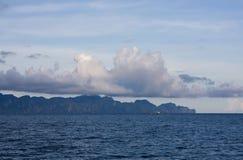 Boat at philippines sea Stock Photo