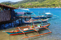 Boat in Philippines Stock Photography