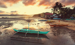 Boat in Philippines Royalty Free Stock Photo