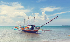 Boat in Philippines Royalty Free Stock Images
