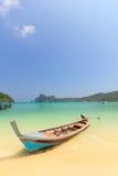 Boat in Phuket Thailand Stock Photography