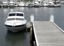 Boat At Pier Stock Image