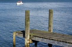 Boat pier Stock Image