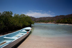 Boat at Playa las Gatas Stock Photos