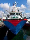 Boat in port Stock Image