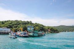 Boat Port Royalty Free Stock Photo