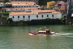 Boat in Porto Stock Photography