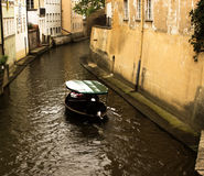 Boat in Prague. Photo of a boat in Prague Stock Photography