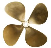 Boat propeller Stock Images