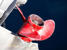 Boat propeller Royalty Free Stock Photo