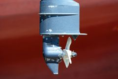 Boat Propeller Royalty Free Stock Photography