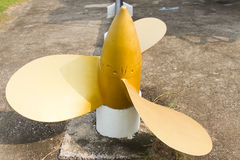 Boat propeller Stock Photography