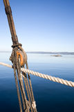 Boat Pulley Abstract Stock Images