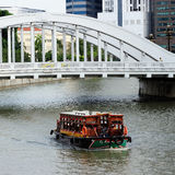Boat Quay Royalty Free Stock Image