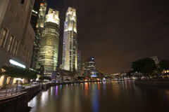 Boat Quay in Singapore Stock Photography