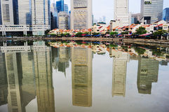 Boat Quay Stock Photography