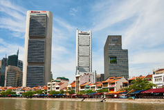 Boat Quay, Singapore Stock Photo
