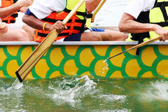 Boat race Royalty Free Stock Photography