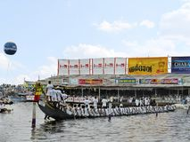 Boat Race in Kerala. Punnamada lake, Alappuzha. Boat Race. Punnamada lake, Alappuzha, Kerala Second Saturday of August Royalty Free Stock Image