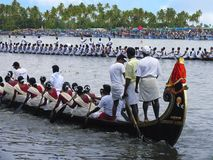 Boat Race in Kerala. Punnamada lake, Alappuzha. Boat Race. Punnamada lake, Alappuzha, Kerala Second Saturday of August Stock Image