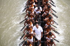 Boat races of Kerala Royalty Free Stock Photos
