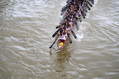 Boat races of Kerala Royalty Free Stock Image