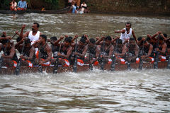Boat races of Kerala Stock Photography