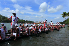 Boat racing in Kerala Stock Images