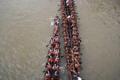 Boat Racing in Kerala Royalty Free Stock Images
