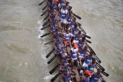 Boat Racing in Kerala Stock Photo