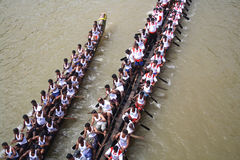 Boat Racing in Kerala Royalty Free Stock Photos