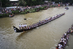 Boat Racing in Kerala Royalty Free Stock Photo