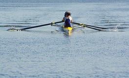 Boat Racing Stock Image