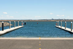 Boat Ramp and Floating Jetty Royalty Free Stock Photo