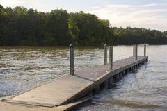 Boat Ramp. A boat ramp on Lake Norman in North Carolina Royalty Free Stock Photography