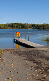 Boat Ramp Royalty Free Stock Photo